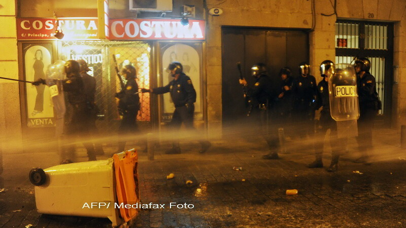 proteste Madrid, Spania