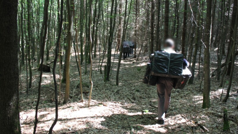 Contrabandisti cu ghinion. Peste 7.000 de pachete de tigari au fost abandonate la granite cu Ucraina