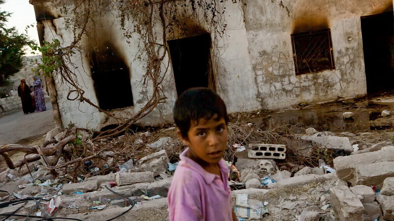 Siria, ruine
