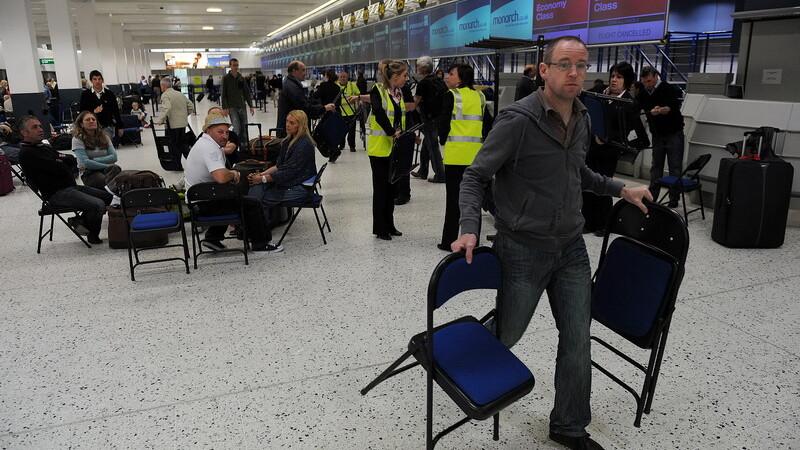 aeroportul din Manchester