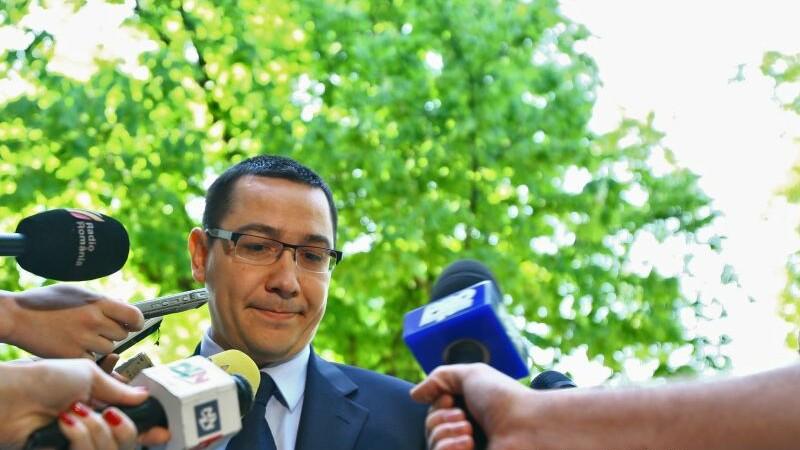 Ponta sustine ca nu il vede pe Iohannis ca pe