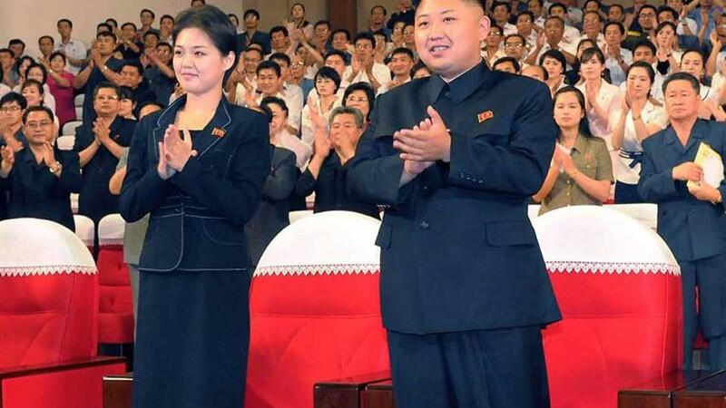 Kim Jong-un si sotia