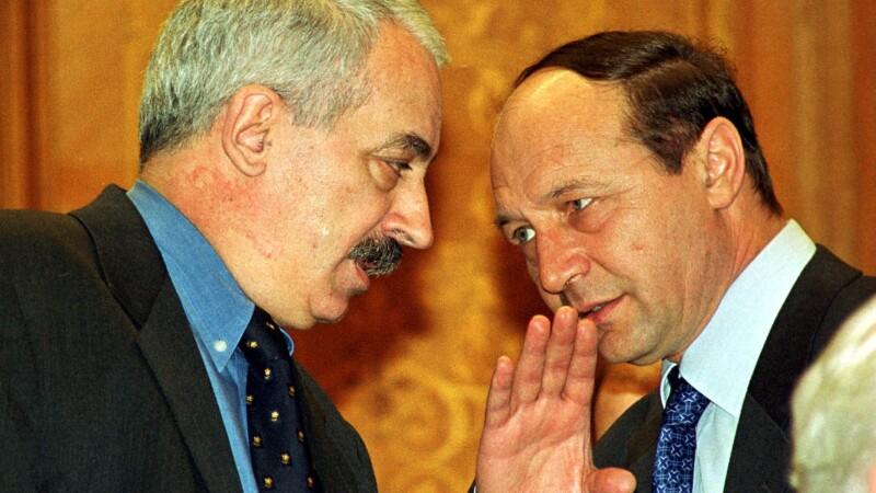 Traian Basescu, Radu Vasile