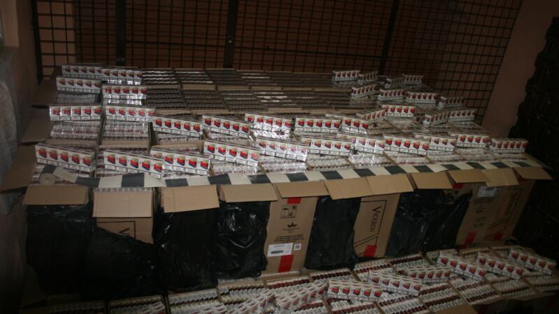 Tigari in valoare de 100.000 de euro, confiscate la frontiera cu Ucraina