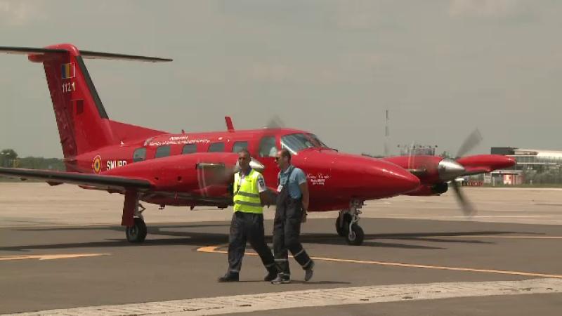 avion sanitar, SMURD