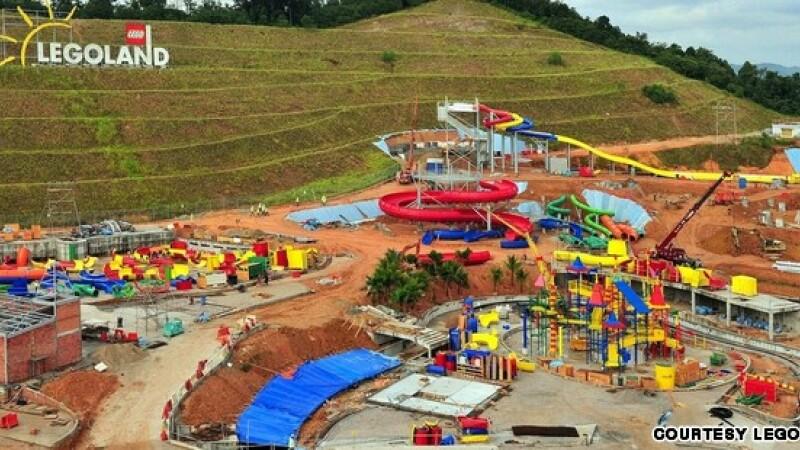 parc acvatic, lego, Malaysia