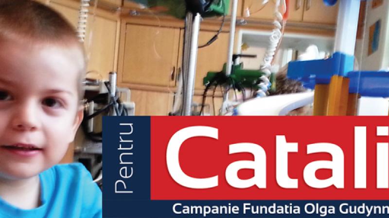 Ajuta-l pe Catalin, copilul de 4 ani bolnav de leucemie. Tratamentul sau costa 150.000 euro