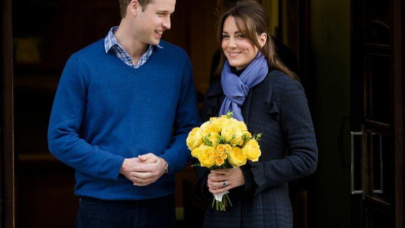 Kate Middleton si William