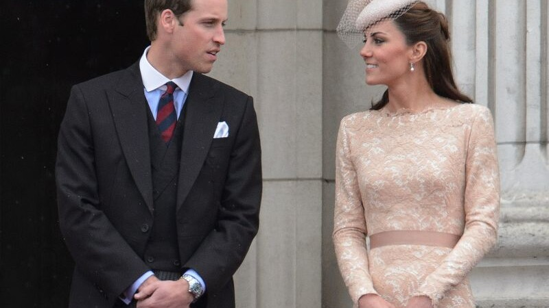 Kate Middleton si William