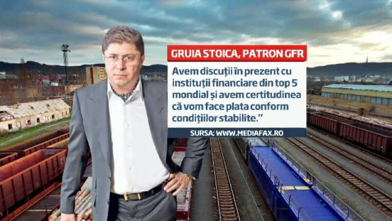 Gruia Stoica, CFR Marfa