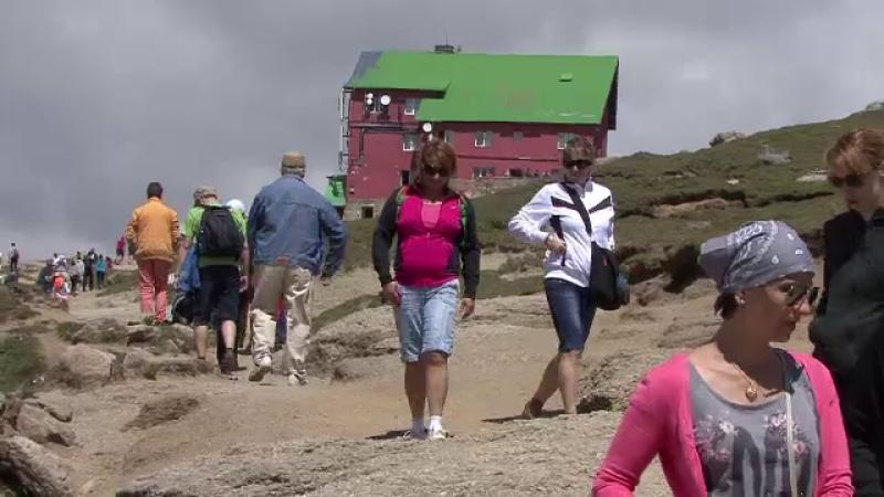 turisti la munte