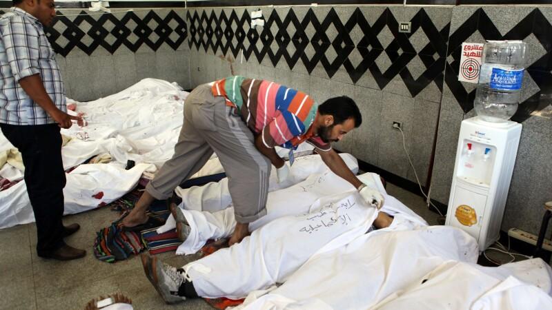 Egipt, morti