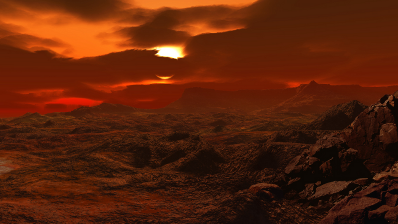 planeta arida, Venus