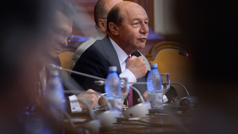 Traian Basescu la dezbaterea PMP