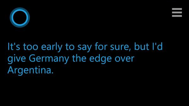 Cortana Germania invinge