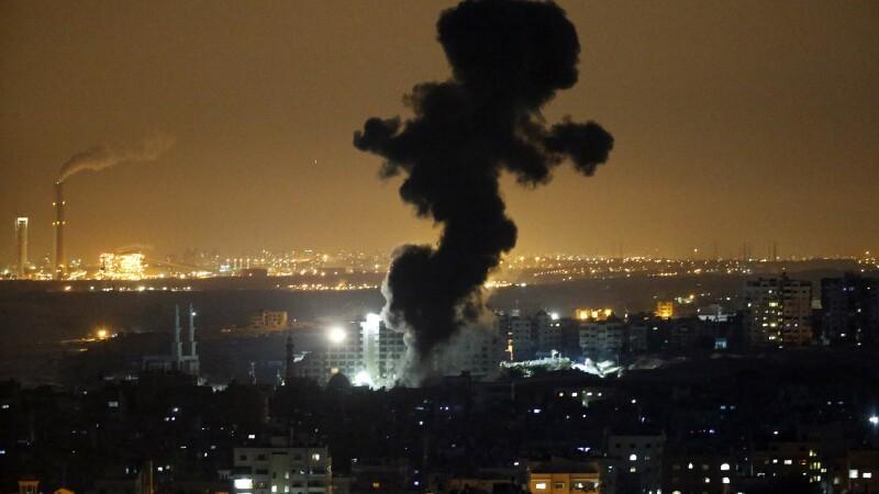 atac in fasa gaza