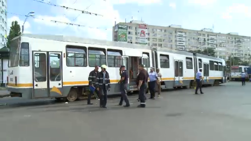 accident tramvai Capitala