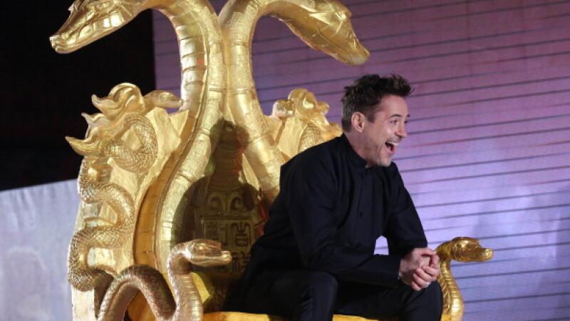 Pentru al doilea an consecutiv, Robert Downey Jr e primul loc in topul celor mai bine platiti actori de la Hollywood