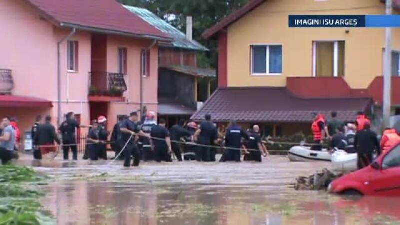 Inundatii in Arges