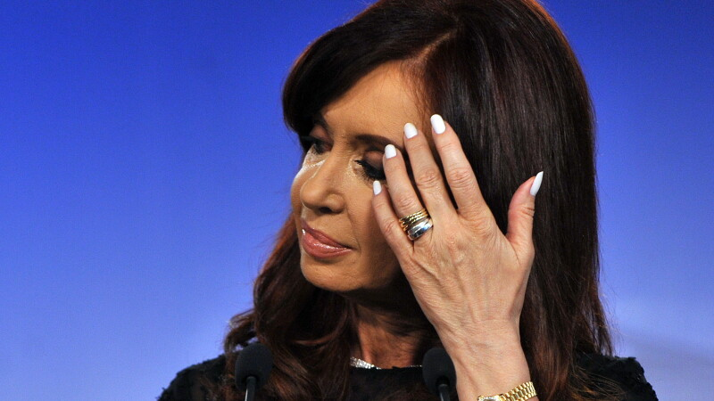 Presedintele Argentinei, Cristina Fernandez de Kirchner
