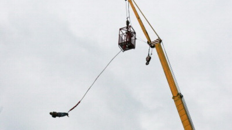 bungee jumping -getty