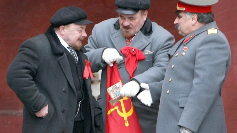 stalin lenin - Getty