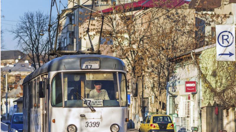 tramvai vechi in Bucuresti FOTO: SHUTTERSTOCK