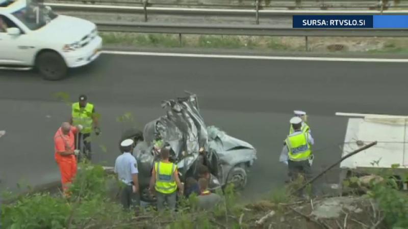 accident Slovenia - stiri