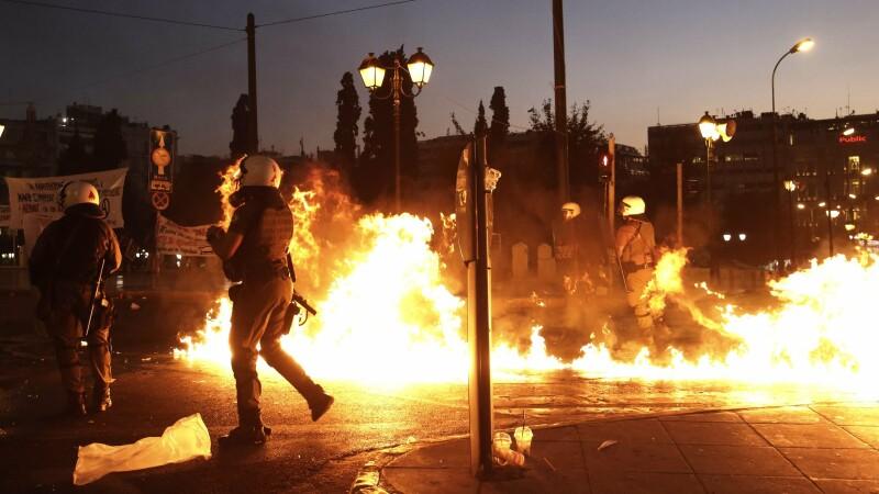 Proteste Grecia - 3