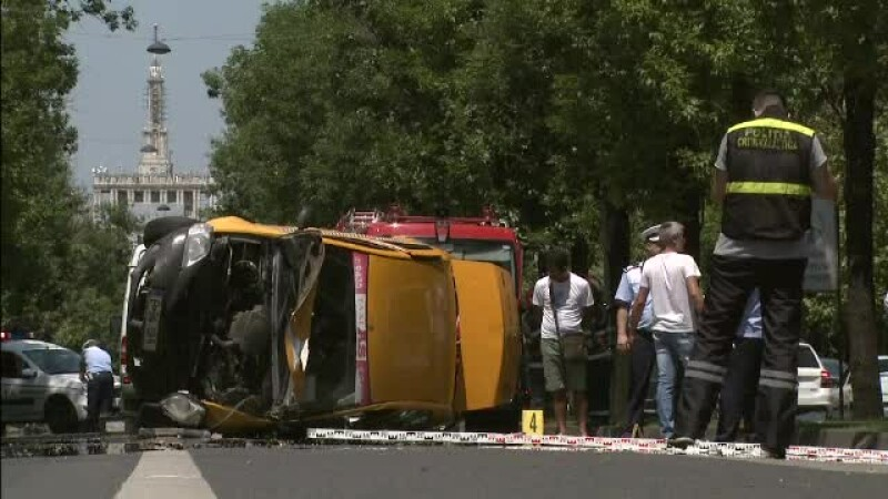 accident, taxi