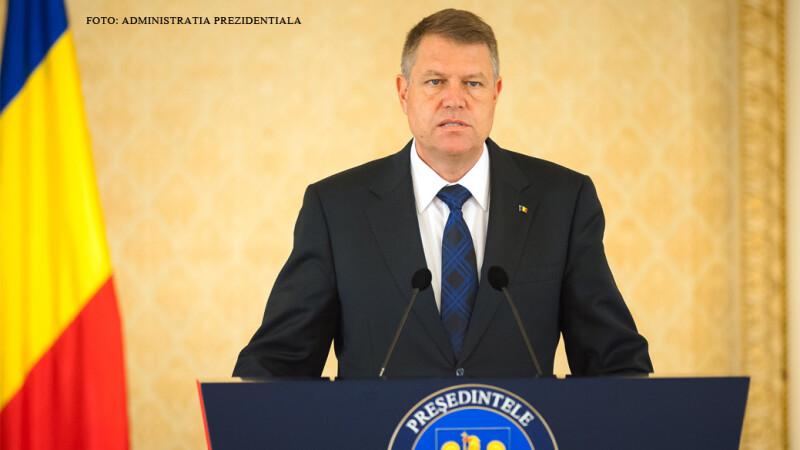 Klaus Iohannis, presedintele Romaniei FOTO PRESEDINTIE