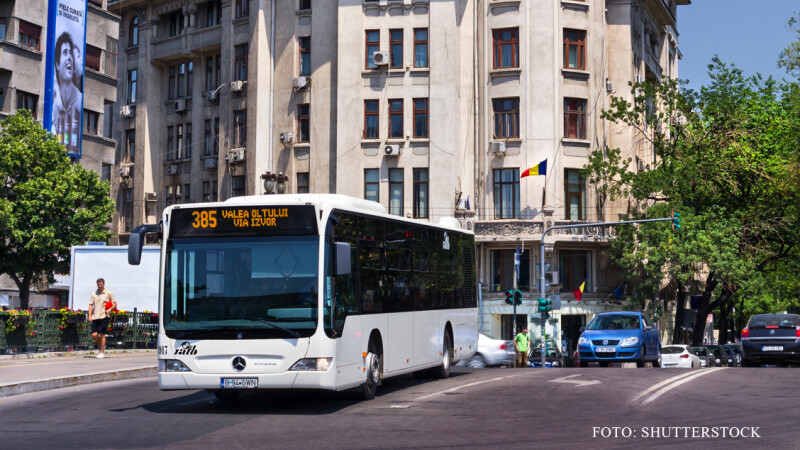 autobuz RATB la Izvor FOTO SHUTTERSTOCK