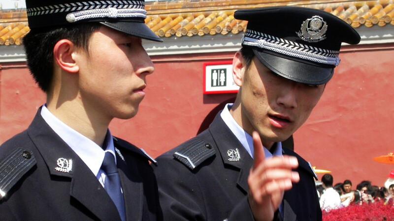 politisti chinezi in Beijing FOTO: FLICKR