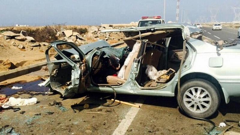 Impact mortal pe o autostrada din Arabia Saudita. O familie a murit dupa ce masina lor a lovit o camila