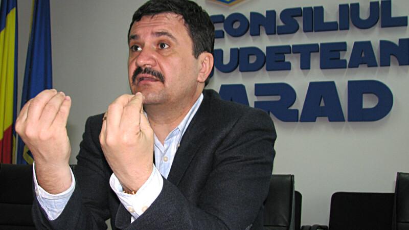 Nicolae Iotcu, presedintele Consiliului Judetean (CJ) Arad FOTO AGERPRES