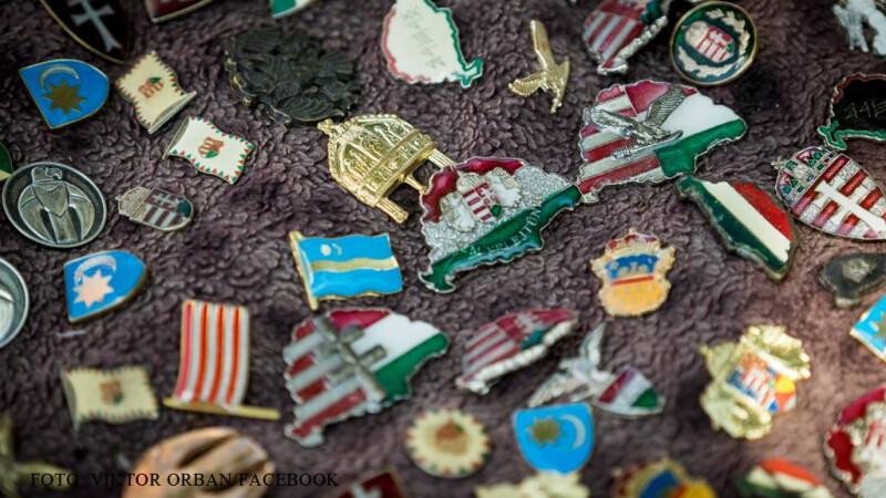simboluri ale Ungariei Mari de pe Facebook Viktor Orban