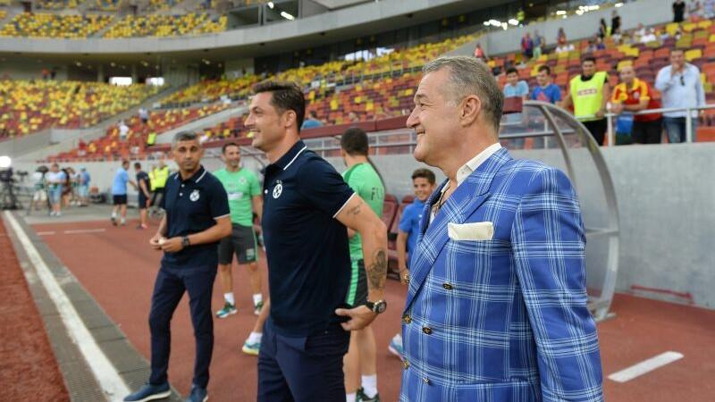 Gigi Becali, Mirel Radoi, Steaua
