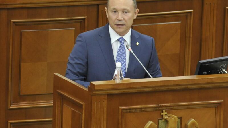 Premierul de la Chisinau respinge posibilitatea unirii Republicii Moldova cu Romania.
