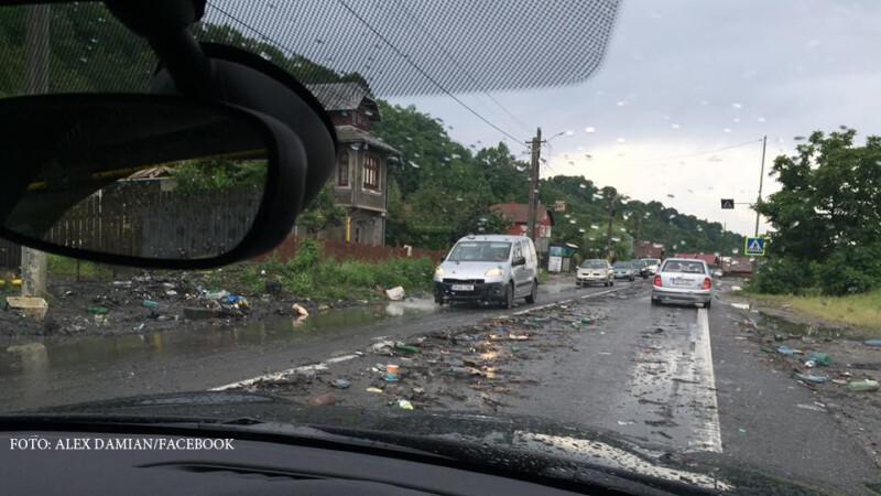 aluviuni pe DN1