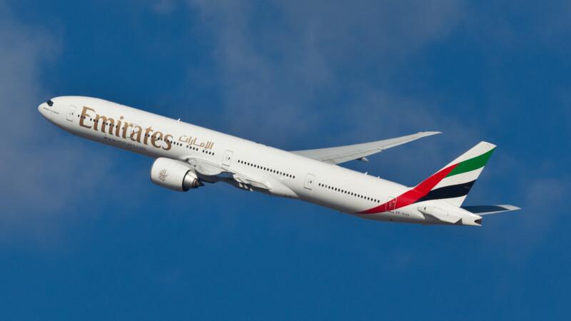 Fly Emirates - Shutterstock