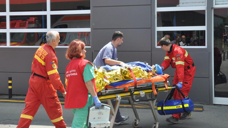 Accident GRAV in Salaj: 13 persoane au fost transportate de urgenta la spital. Planul ROSU de interventie, activat