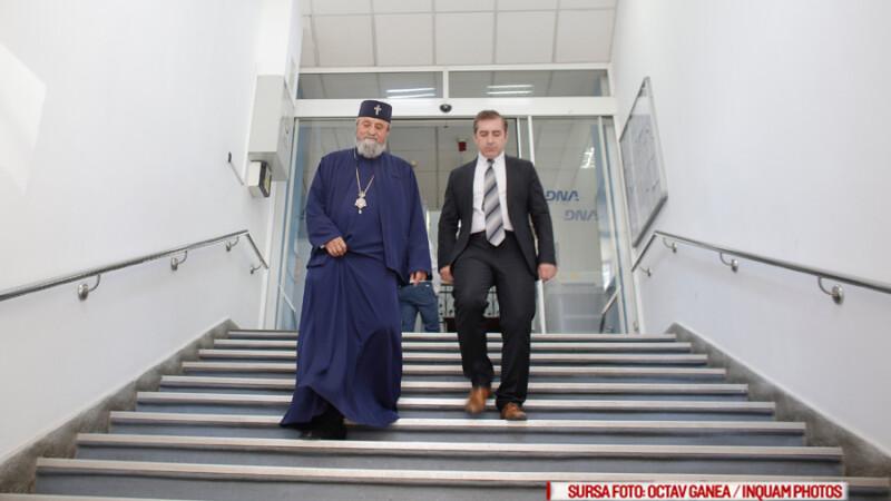Mitropolitul Ardealului, Laurentiu Streza, s-a prezentat la sediul Directiei Nationale Anticoruptie