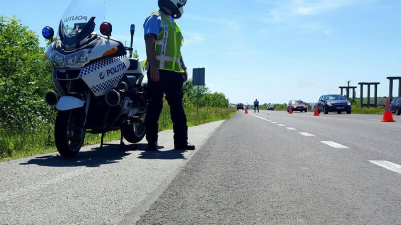 politisti in trafic