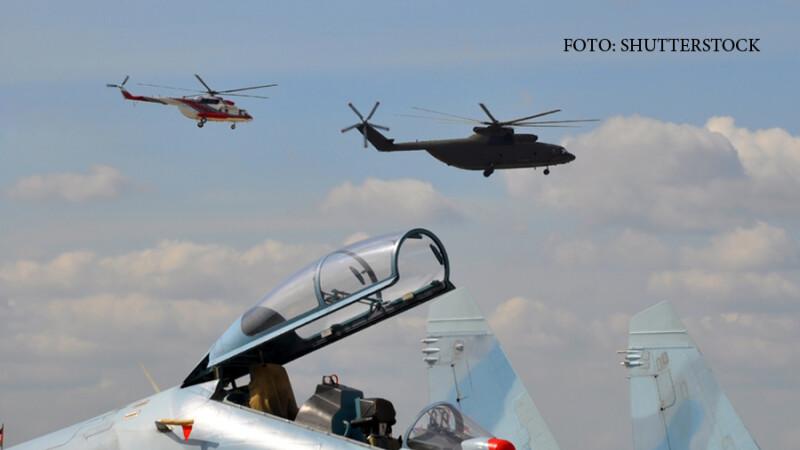 elicoptere si avion rusesc