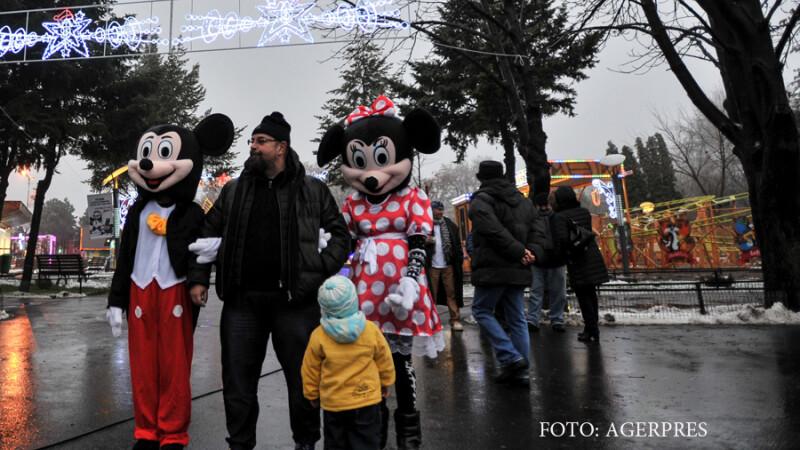 Cristian Popescu Piedone, primarul sectorului 4, in Oraselul Copiilor