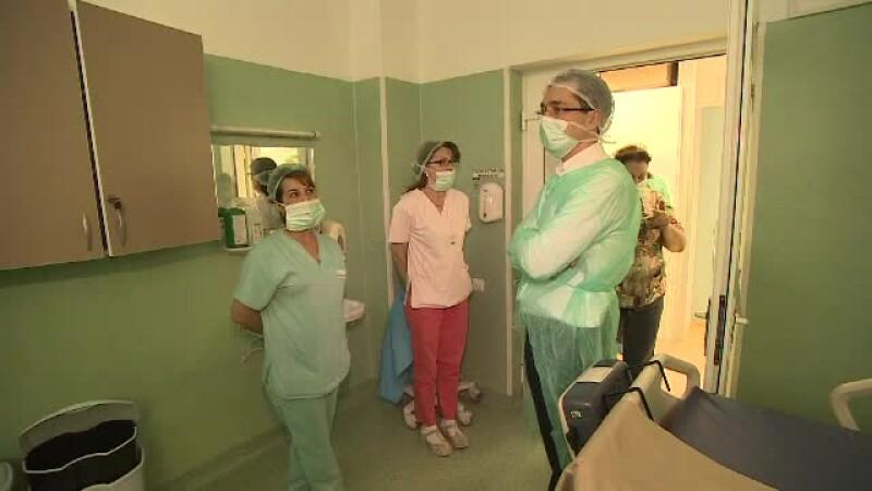 Ministrul Sanatatii in inspectie la Spitalul de Arsi