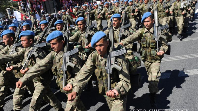 defilare armata turca in Van