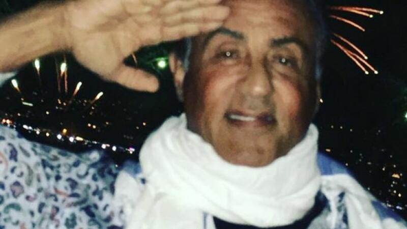 Fotografia postata de Sylvester Stallone pe Instagram cu putin timp inainte de atacul din Nisa. Ce a declarat actorul