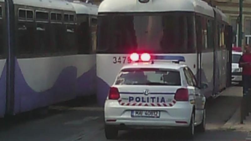 Momente de panica in Timisoara. Un tramvai plin cu calatori, scapat de sub control dupa ce vatmanul a lesinat