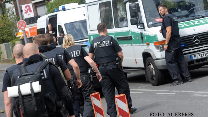 Barbatul care s-a baricadat intr-un restaurant din Germania a fost imobilizat. Politia l-a gasit dormind in subsol, fara arma